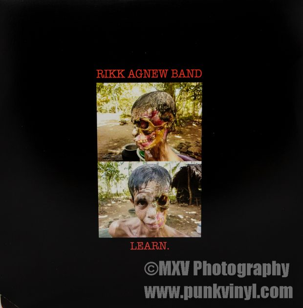 Rikk Agnew Band - Learn LP