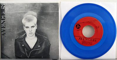 Avengers blue vinyl