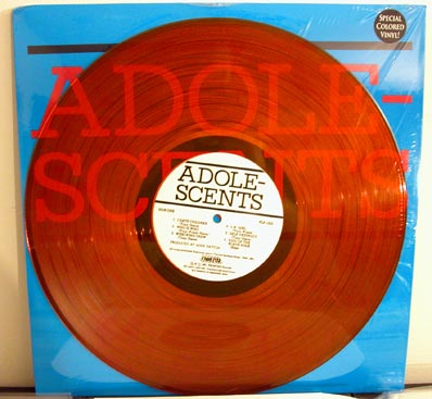 Adolescents LP on orange vinyl