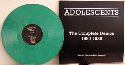 Adolescents green vinyl