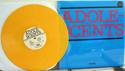 Adolescents LP on yellow