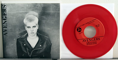 Avengers red vinyl