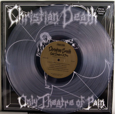 Christian Death LP on clear
