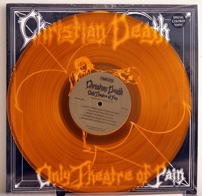 Christian Death yellow wax