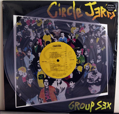 Circle Jerks - Group Sex clear vinyl