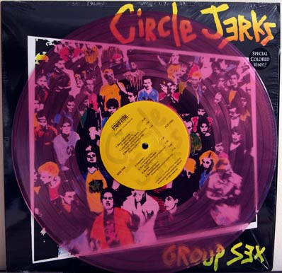 Group Sex pink vinyl