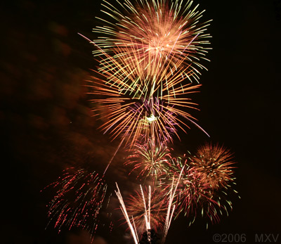 Fireworks by MXV