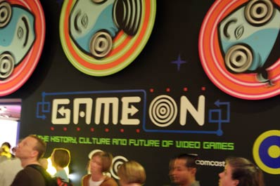 Game On entrance