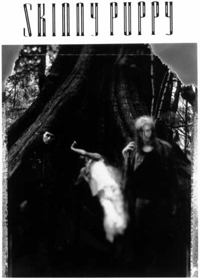 Skinny Puppy 1988 press photo