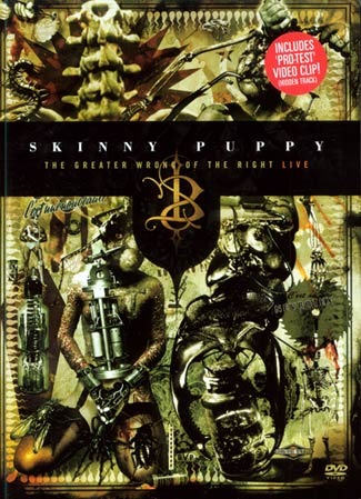 Skinny Puppy DVD - click me to order