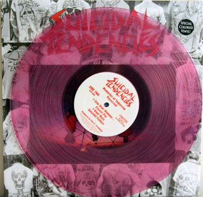 Suicial Tendencies pink vinyl