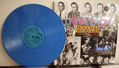 Weirdos blue vinyl LP